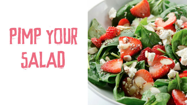 Make your salads tasty and filling with these tips