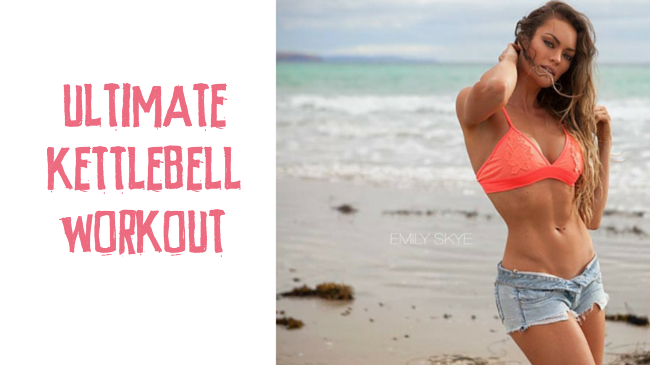 My fat burning kettlebell workout