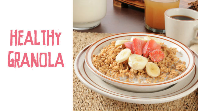 A healthy granola recipe