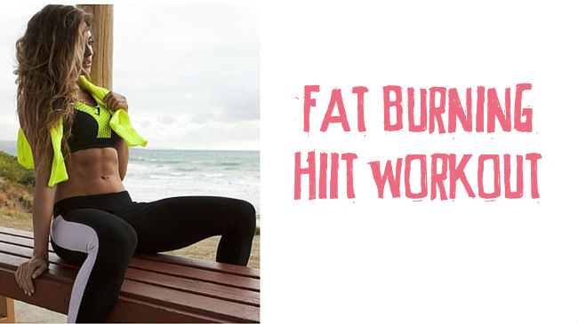 Outdoor fat blasting HIIT workout