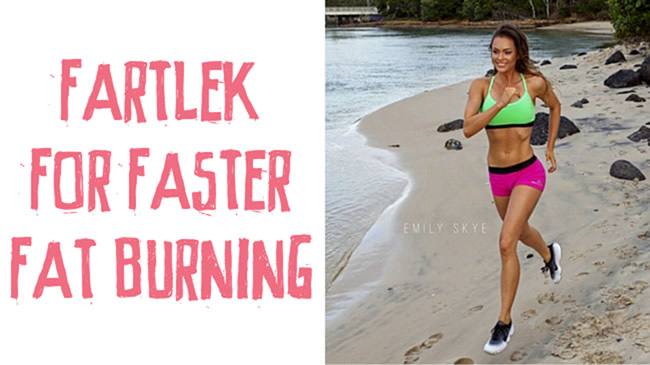 Fartlek for faster fat burning