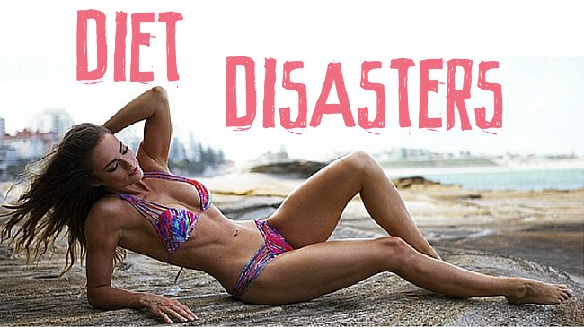 Diet disasters + my 7 simple solutions