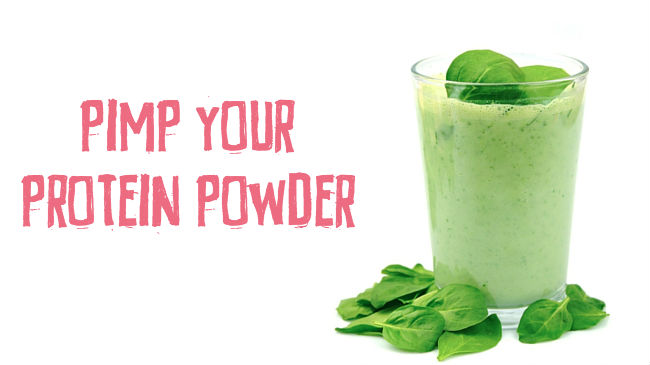 Turn your protein powder into a nutritious meal