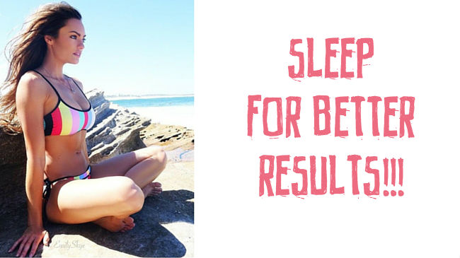 How to sleep better for maximum results and fat burning