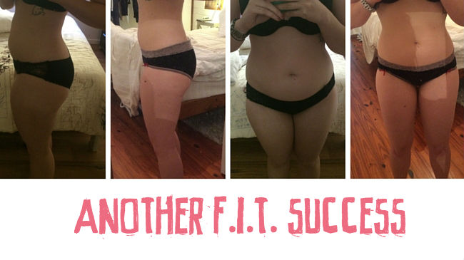 Another success story using my F.I.T. programs
