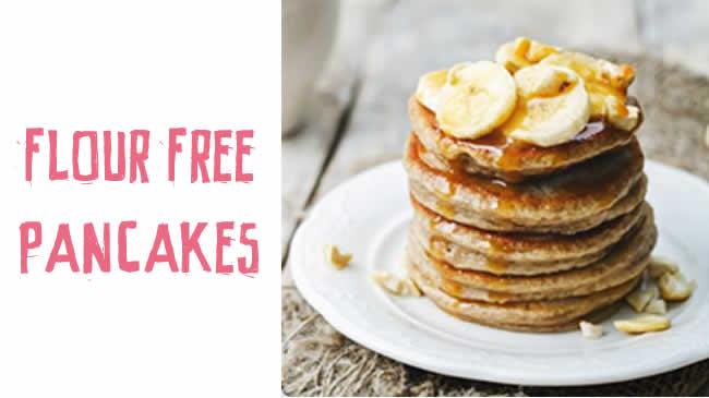 Flour free banana pancakes