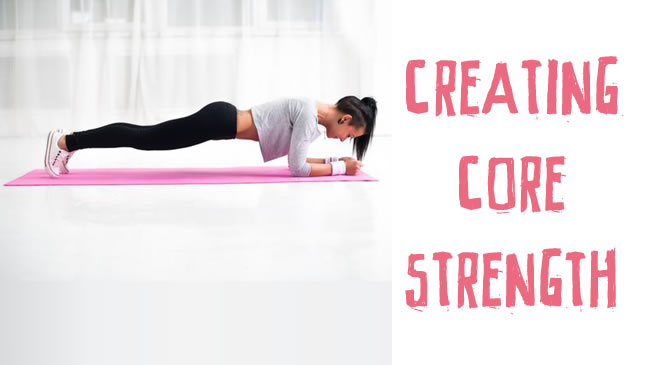 Creating core strength