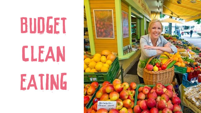 Budget clean eating