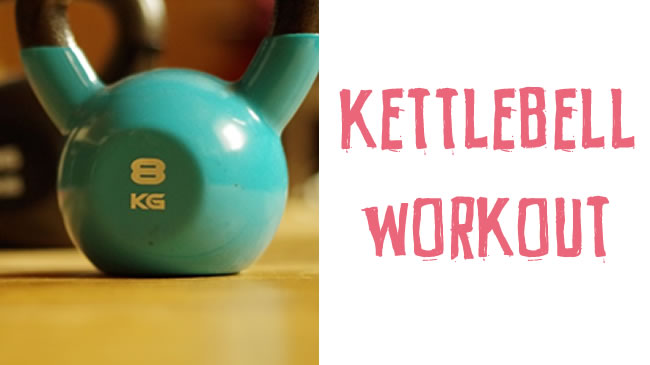 Killer kettlebell workout