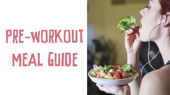 Pre-workout meal guide