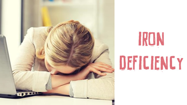 Dealing with iron deficiency
