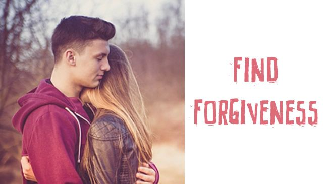 Finding forgiveness and letting go