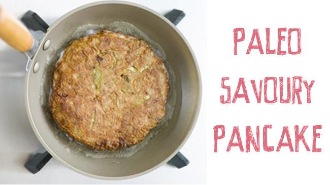 Paleo savoury pancake