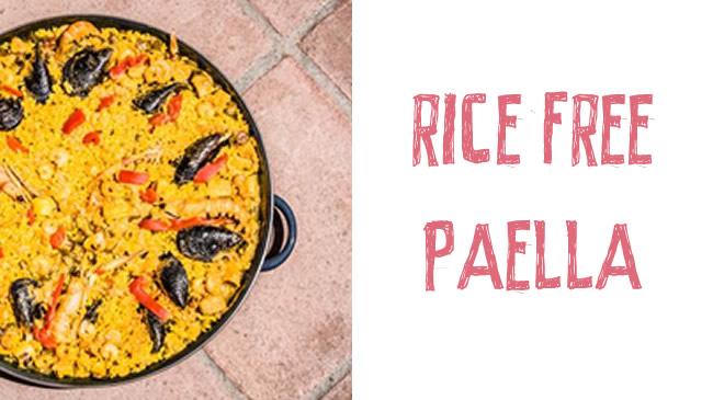 Rice free paella