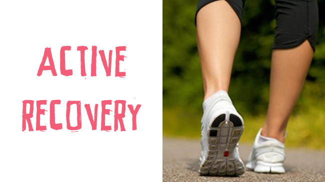 The art of active recovery