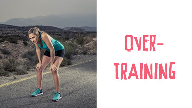 How over training can set you back