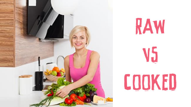 Raw vs cooked food - which is best?