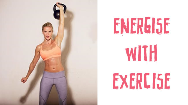 Why exercise works to energise your body
