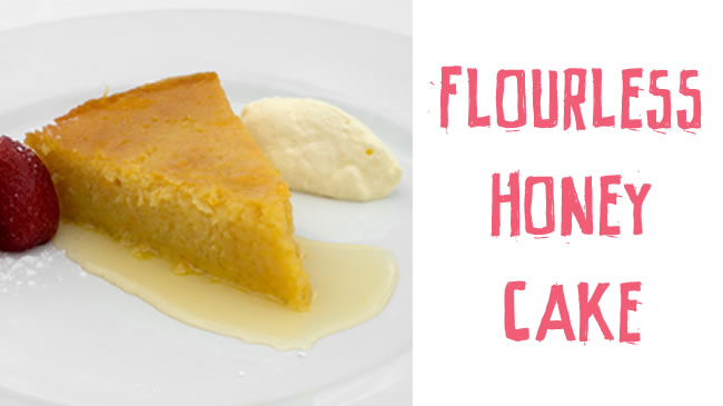 Flourless honey cake