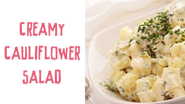 The healthiest potato salad ever (with no potato!)