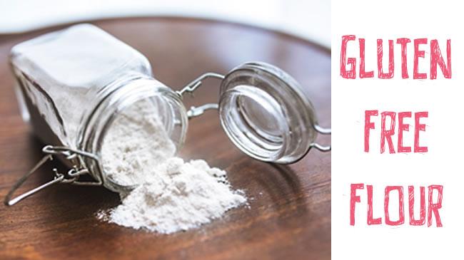 Make your own gluten free flour