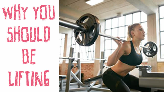5 reasons you should be lifting weights!