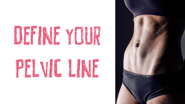 How to define that sexy pelvic line