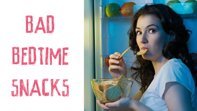 5 foods you should avoid eating before bed