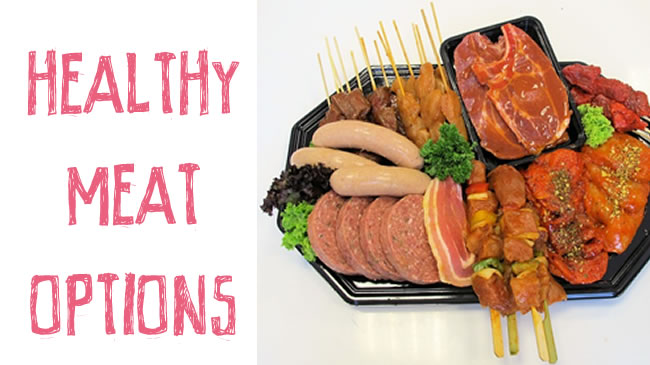 Which are the healthiest meat options