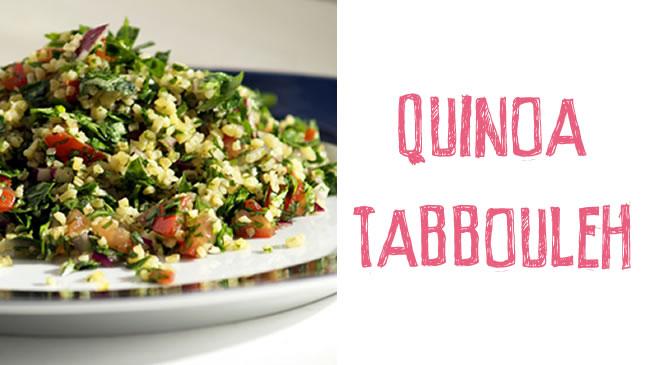 Quinoa tabbouleh (GF, V)