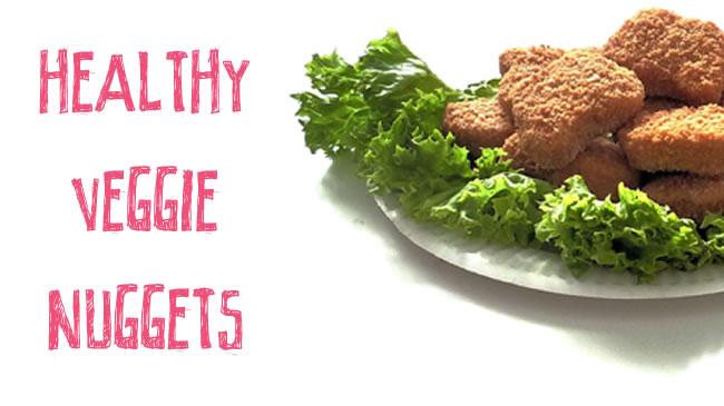 Healthy veggie nuggets