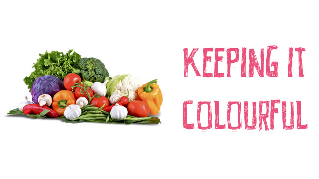 Why eating colourful is good for your health!