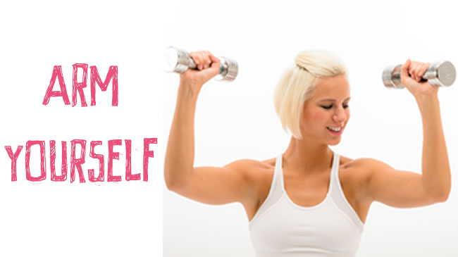 5 steps to firmer arms