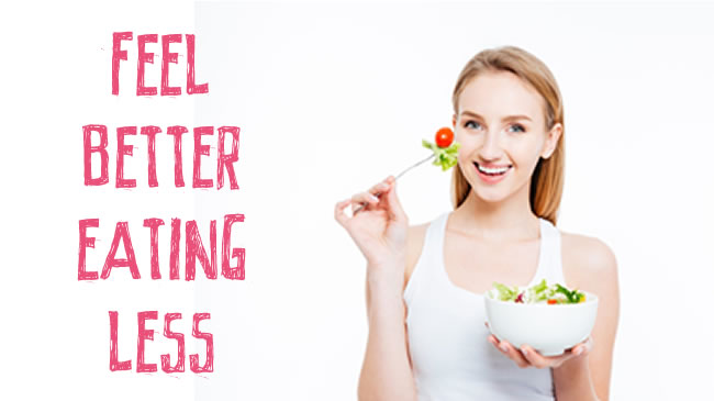 How to cut back on meal sizes & still feel satisfied