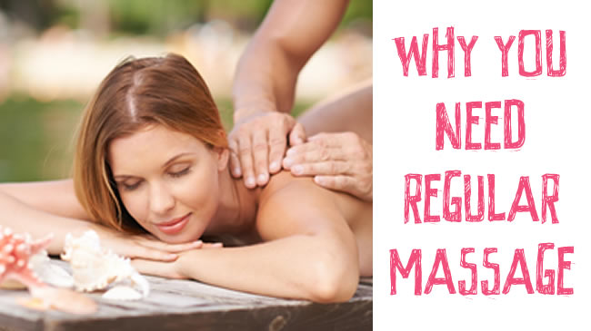 How regular massages can improve your health