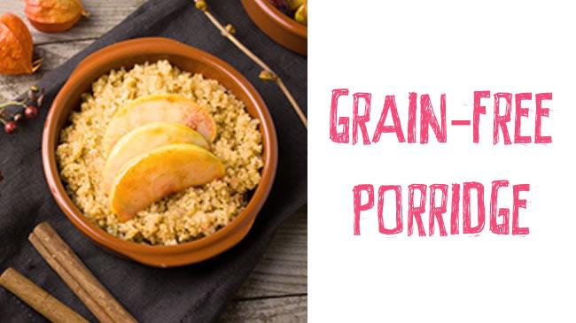 Paleo apple and cinnamon porridge (dairy & grain free!)