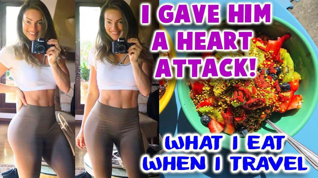 I Gave My Boyfriend A Heart Attack | My Meals While Abroad