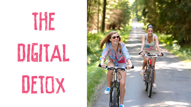 Detox from your digital distractions and get moving!