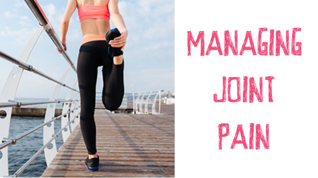 How to manage and prevent joint pain whilst exercising