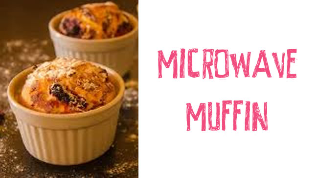 Guilt-free microwave muffin