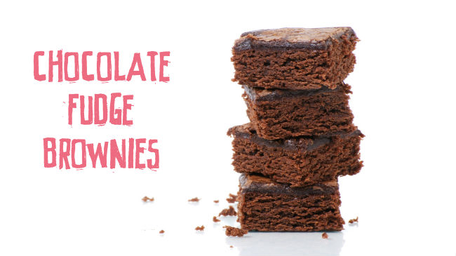 F.I.T. Chocolate Fudge Brownies