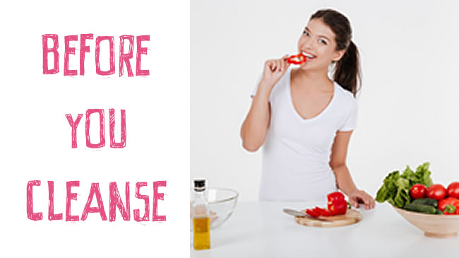 What you need to know before commencing a cleanse