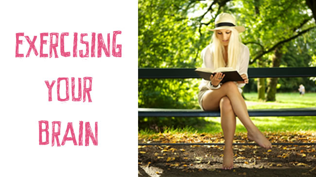 Exercising your brain - healthy mind = healthy body