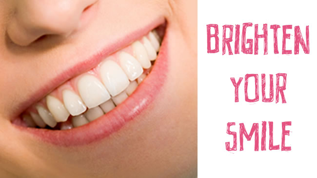 Natural ways to brighten your smile