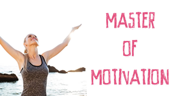 Tips to help motivate yourself and others!