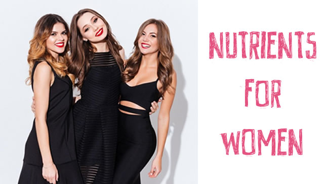 5 nutrients most women don't get enough of