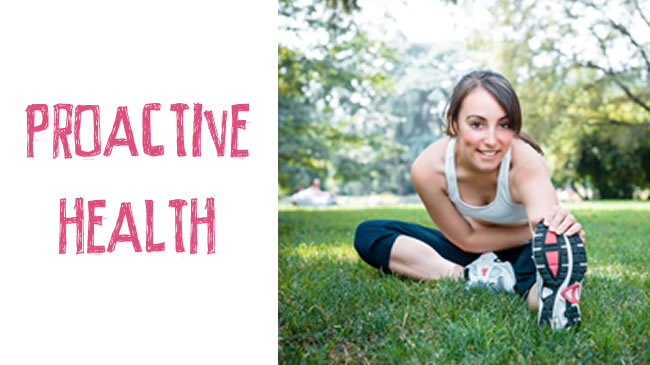 Being proactive in your future health and wellbeing