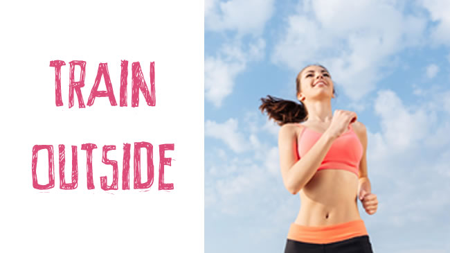 5 reasons why you should be training outside