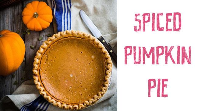 Spiced pumpkin pie - gluten free