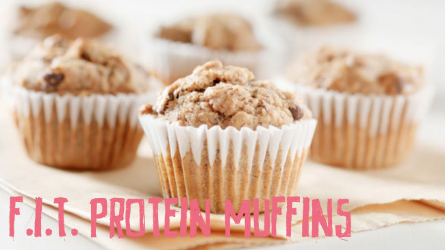 F.I.T. Protein Muffins